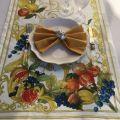"""Tessitura Toscana Telerie, chemin de table en lin """"Borea"""""""
