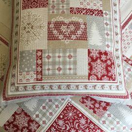 "jacquard cushion cover ""Himalaya"" Tissus Tosseli"