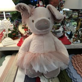 Barbara Bukowski - Ballerina pig Olga pink tutu