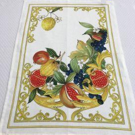 """Torchon en lin """"Borea"""" Tessitura Toscana Telerie"""
