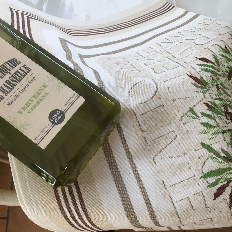 """Kitchen towel """"Gordes"""" by Tissus Toselli"""