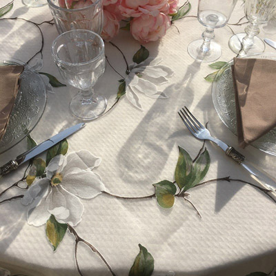 Voiles de table en Organza