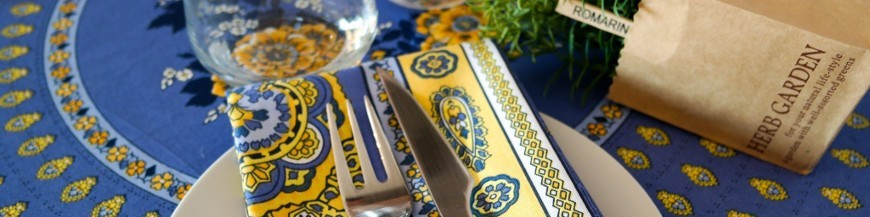 Provencal table linen